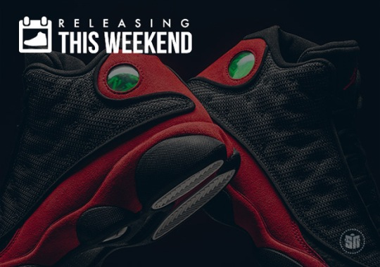"The Return Of Bred 13s, ""Sashiko"" NMDs, And All Of This Week's Best Sneaker Releases"