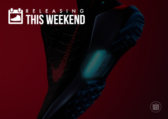 New HyperAdapts, LeBron's First Shoe, Cool Grey Jordan 8s & More of the Best Weekend Releases