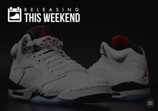 White/Cement Jordan 5s, Premium Air Max 97s, Golf Wang x Converse & More of the Weekend's Best Releases