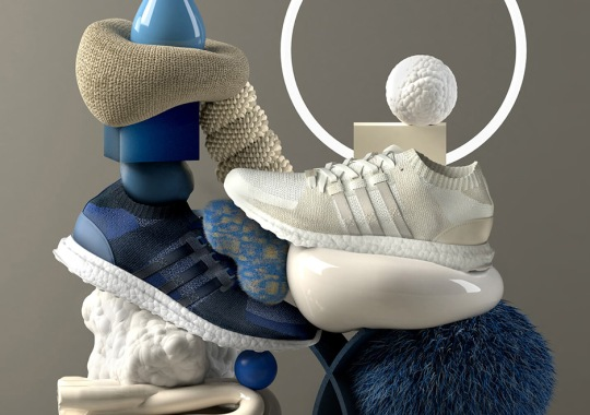 "Sneakersnstuff Pays Homage To Primeknit And BOOST With adidas EQT ""Materials"" Pack"