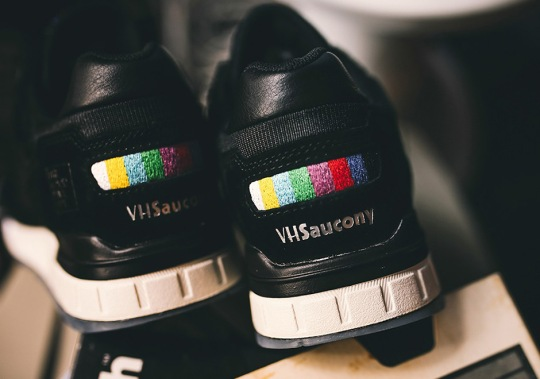The Good Will Out And Saucony To Release VHS-Inspired Collaboration This Weekend