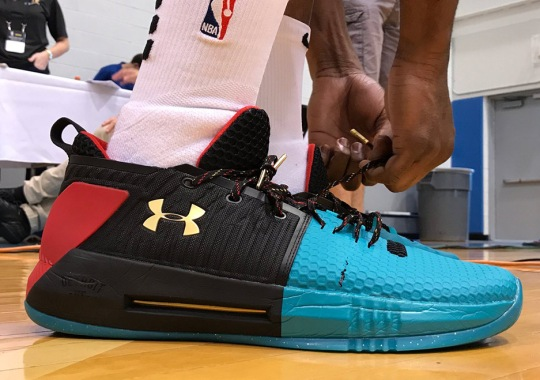 Dennis Smith Jr. And Josh Jackson Unveil The Under Armour Drive 4 Low