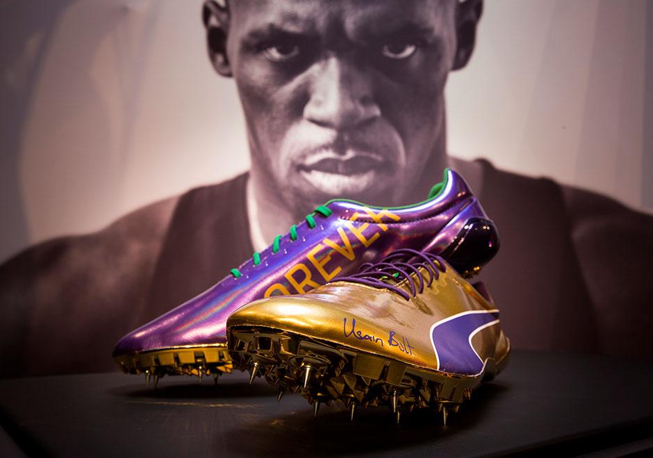 Usain Bolt Final Race Retirement Puma Cleats   SneakerNews.com