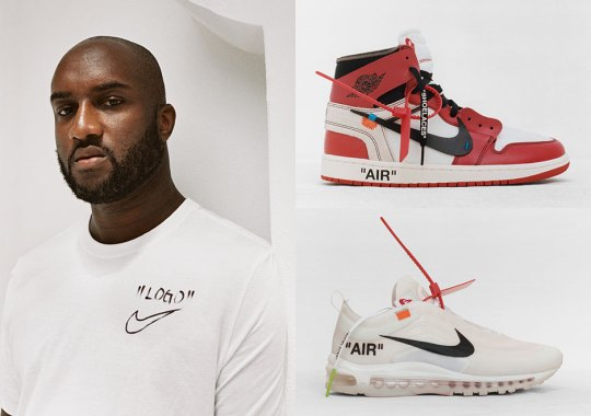 "Nike And Virgil Abloh Announce Full Release Information Of ""The Ten"" Collection"