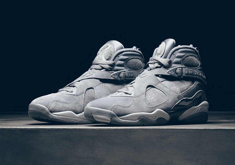 "Where To Buy The Air Jordan 8 ""Cool Grey"""