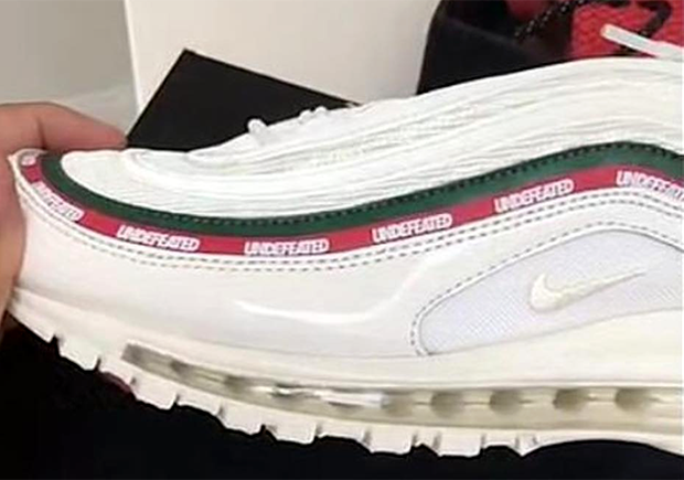 7eacbd5012ab DJ Khaled Previews White Colorway Of The Undefeated x Nike Air Max ...