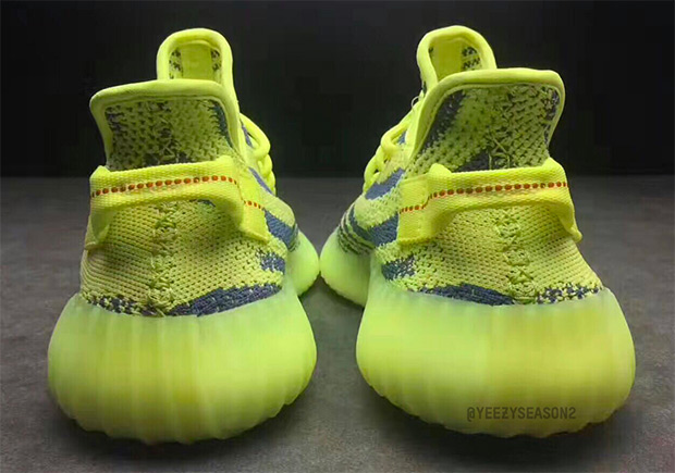 the adidas yeezy boost 350 v2 semi frozen yellow