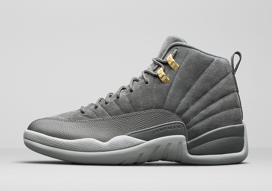 "63ddef40773004 Air Jordan 12 ""Dark Grey"" Release Date  November 18th"