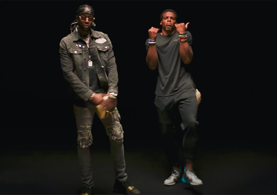 2Chainz Debuts New Song With Cam Newton And UA C1N Signature Shoe