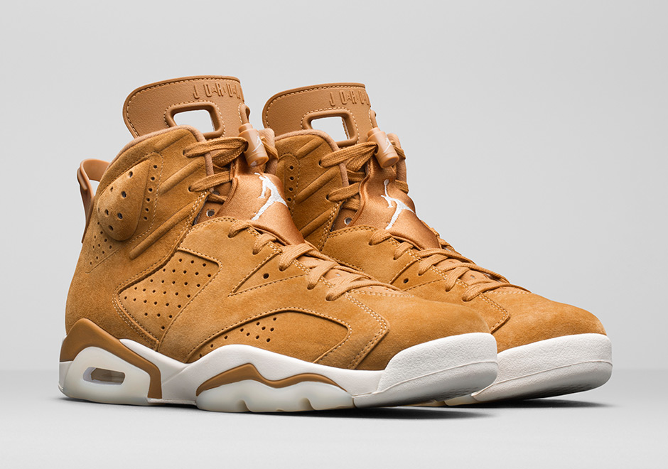 4a06aa17c71bce Jordan 6 Wheat Golden Harvest Elemental Gold Release Date ...