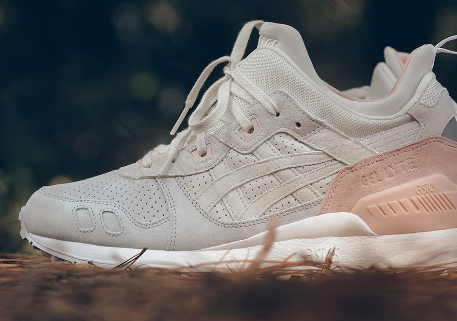 """4f668c2a9f95 The """"Strawberries and Cream"""" GEL-Lyte MT is available now at select ASICS  Tiger retailers like Sneaker Politics."""