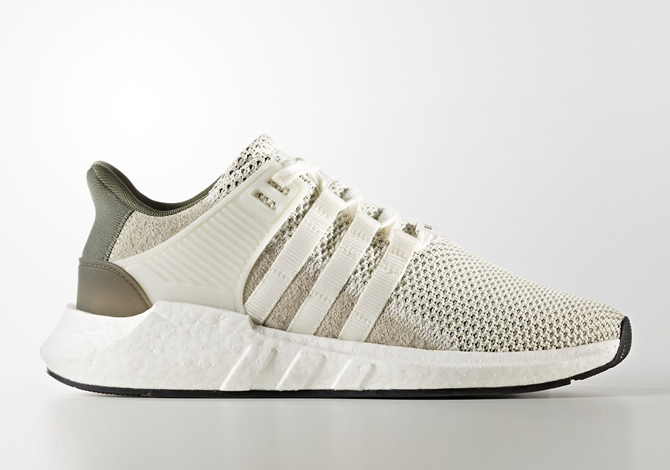 official photos 2bdb5 e2e10 adidas EQT Support 93/17 Boost Beige Green BY9510 ...