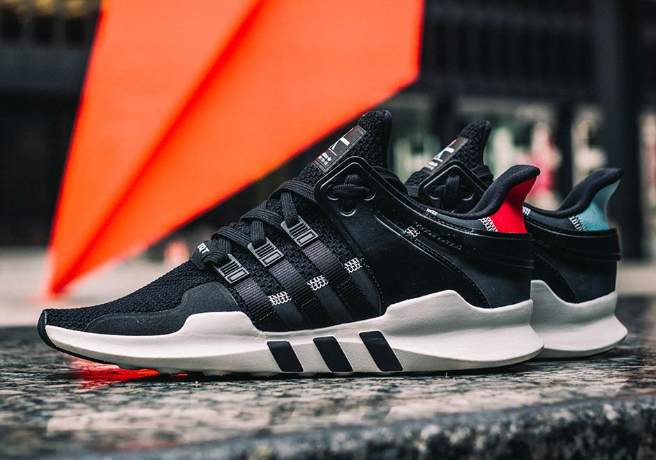 Adidas Red JD Sports EQT SUPPORT 93/17 9.5 supreme 8 9 10