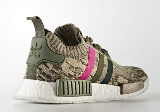 adidas NMD R1 Primeknit With Camo And Pink Hits Releasing In October