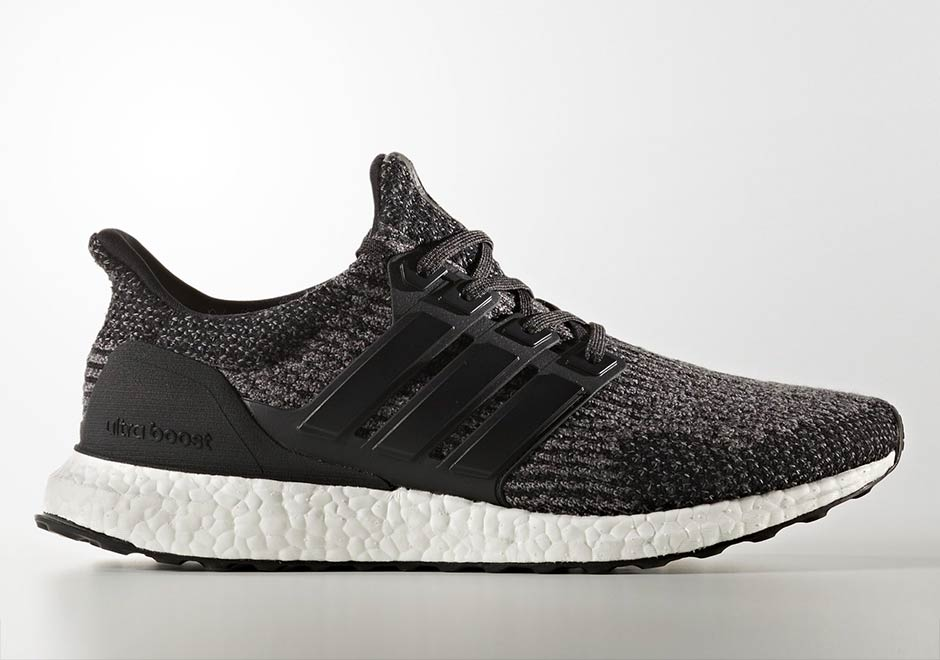 adidas Ultra Boost 3.0 Pairs Core Black With Utility Black