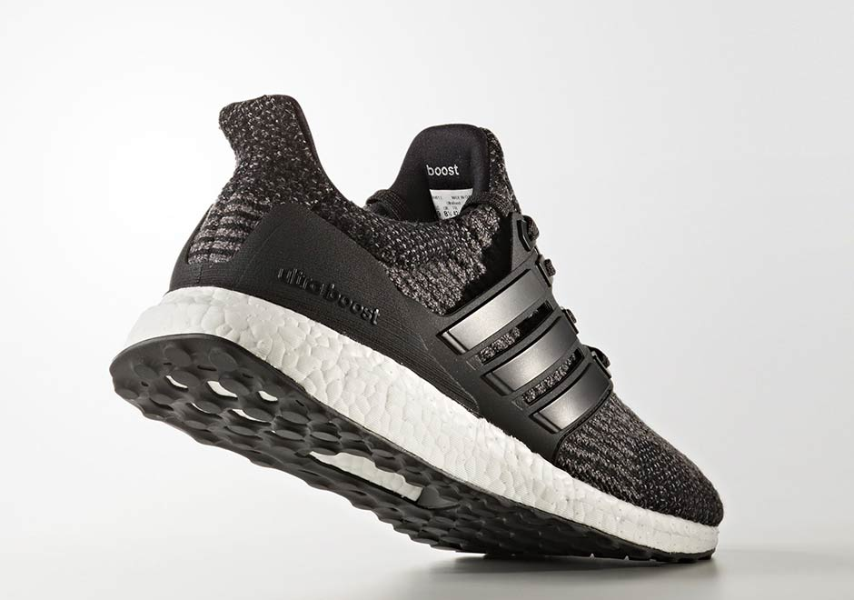 "53be23168f8 adidas Ultra Boost 3.0 ""Utility Black"" AVAILABLE AT Finish Line  180.  Color  Core Black Utility Black White"