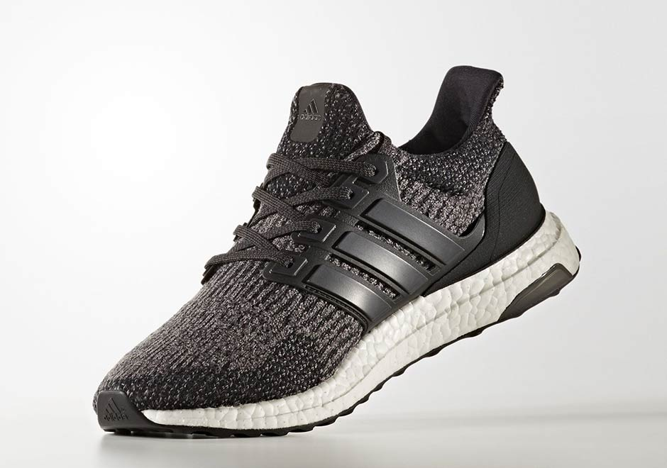 """a235a1d4903 adidas Ultra Boost 3.0 """"Utility Black"""" AVAILABLE AT Finish Line  180.  Color  Core Black Utility Black White Style Code  S80731. Advertisement"""