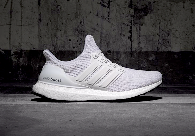 huge discount c02ea 2cffb adidas Ultra Boost 4.0 Core White | SneakerNews.com