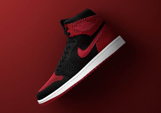 """Air Jordan 1 Retro Hi Flyknit """"Banned"""" Is Available Via Early Access"""