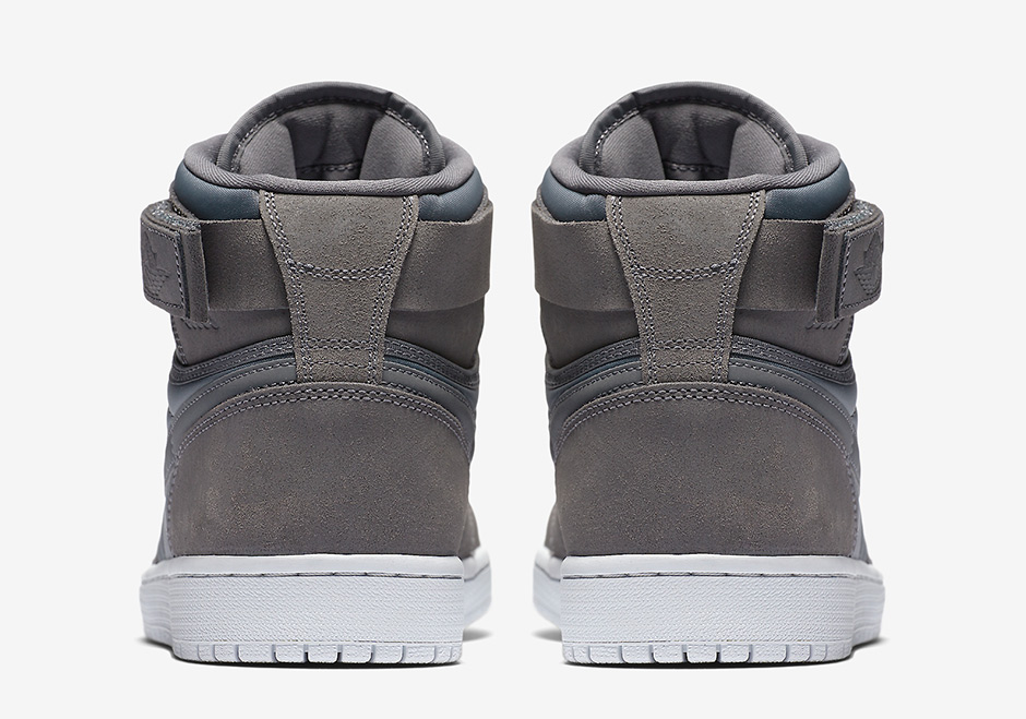 "Air Jordan 1 High Strap ""Padded Pack"" AVAILABLE ON Nike.com  140. Color  Dark  Grey Pure Platinum-Anthracite Style Code  342132-004. show comments a3a2a1e2a"