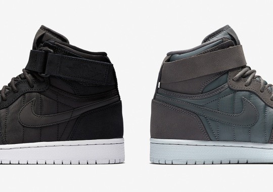 f40f2966e9e Air Jordan 1 High Strap With Padded Uppers Now Available