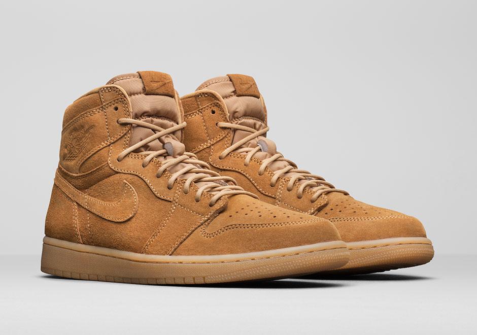 "8628127b710 Update  The Air Jordan 1 High ""Wheat"" releases on November 25th"