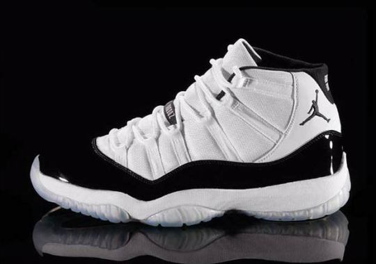 "Air Jordan 11 ""Concord"" Rumored For Holiday 2018 Release"