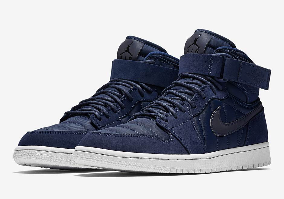 huge selection of 4ac01 e0591 The Air Jordan 1 Strap Is Releasing In Navy