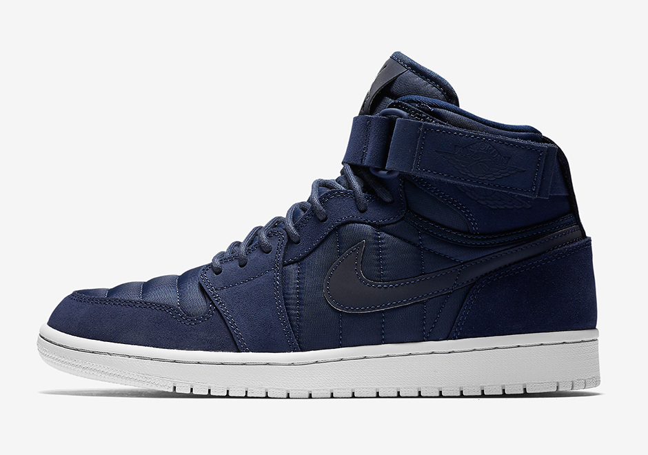 online store 2730d bcca1 ... official air jordan 1 high strap color midnight navy white f1cd8 2a405