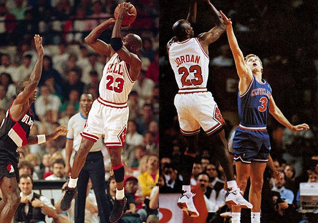 Michael Jordan's Fadeaway Jumper Inspires Upcoming Air Jordan 7 Retro Release