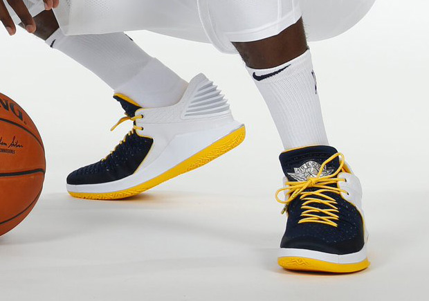 b16503f78d86 Victor Oladipo – Indiana Pacers – Air Jordan XXXII Low PE