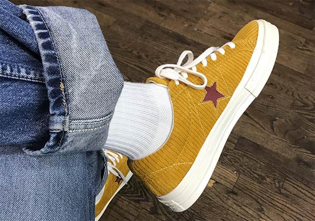 a8aa77fe4286 A AP Nast Adds Corduroy To His Converse One Star Collaboration