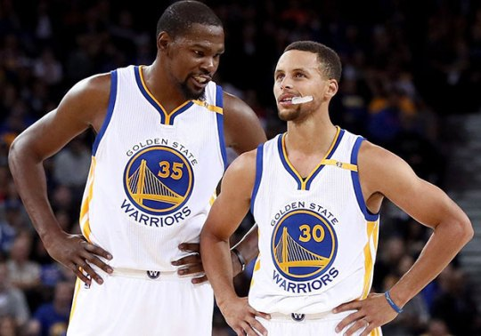Steph Curry Responds To Kevin Durant's Comments About Under Armour