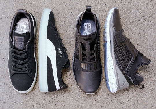 """The Distinct Life and Puma To Release """"Monochrome"""" Pack Featuring Classic And New Silhouettes"""