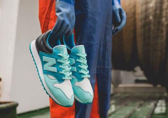 """Hanon Pays Homage To Scotland With New Balance """"Fisherman's Blues"""" Collaboration"""