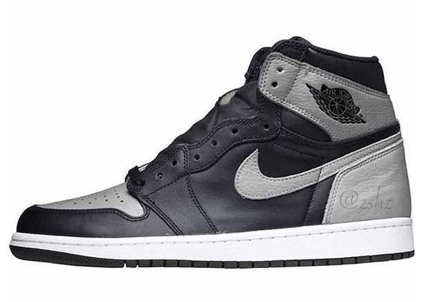 """382c3f237f3b1 The Air Jordan 1 Retro High OG """"Shadow"""" – or something very close to it –  is coming our way in April 2018. At this point it appears that Jordan Brand  is ..."""