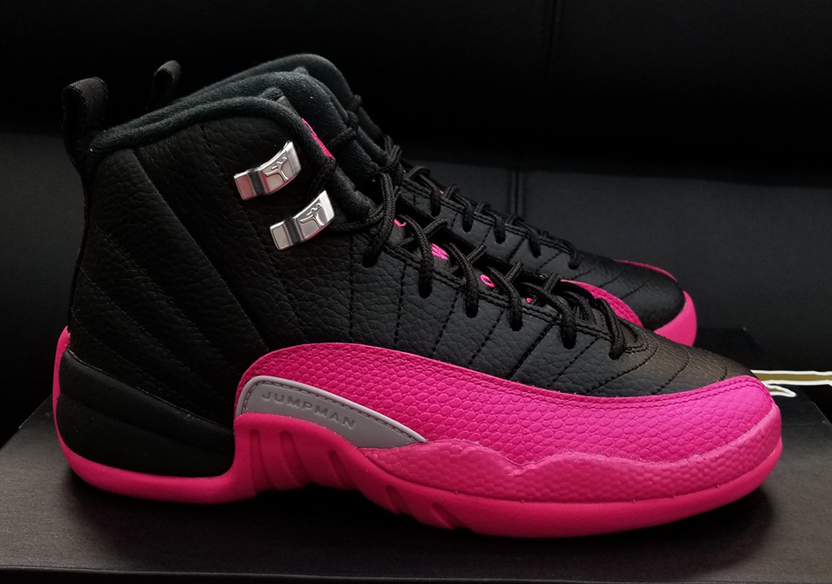 The Air Jordan 12 continues to be one of the more popular silhouettes among  the smaller-footed female demographic. There s something about the  sleekness of ... c57784ac2