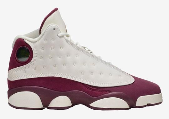 "Air Jordan 13 ""Bordeaux"" Releasing On October 28th"