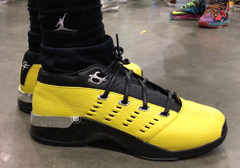 best sneakers 04c03 5f7f0 Solefly Jordan 17 Low Lightning AJ7321-003 Detailed Photos ...