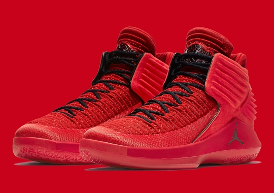"""The Next Chapter Of Air Jordan Begins This Saturday With The XXXII """"Rosso Corsa"""""""