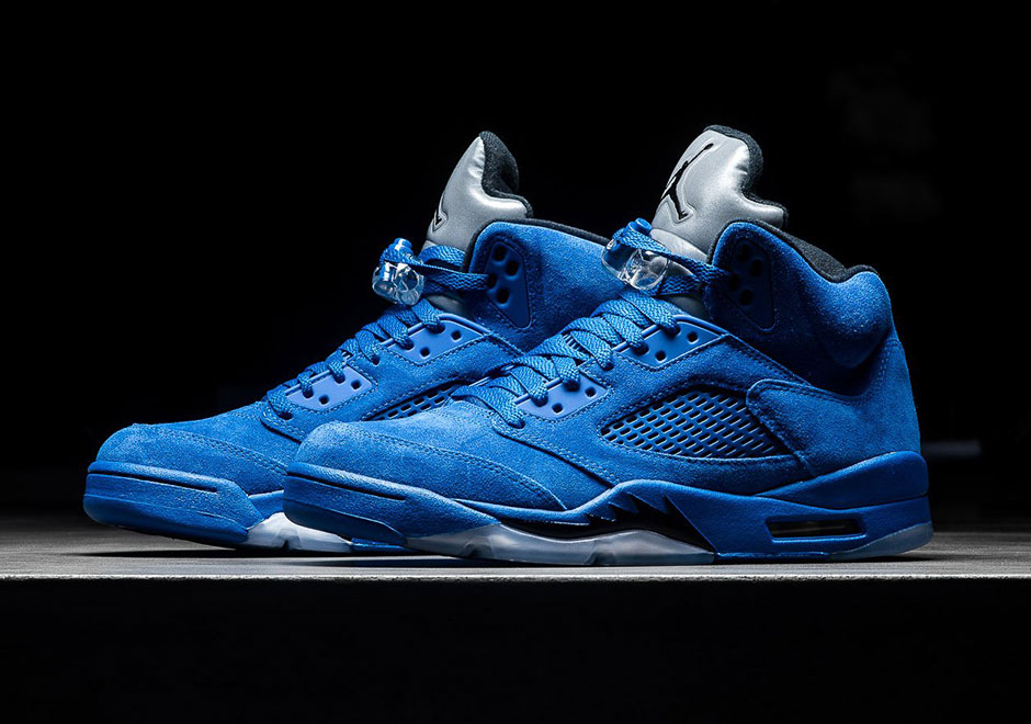 "Jordan Brand Completes The ""Flight Suit"" Collection With Tomorrow's Air Jordan 5 ""Game Royal"""