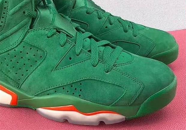 """7067f90cdce345 A New Air Jordan 6 """"Gatorade"""" Sample With Translucent Soles Appears"""