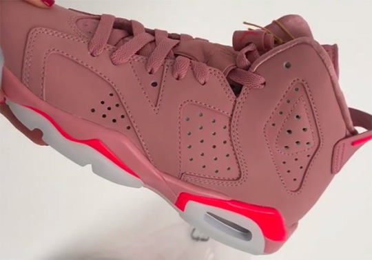 """Air Jordan 6 """"Millenial Pink"""" For Friends And Family"""