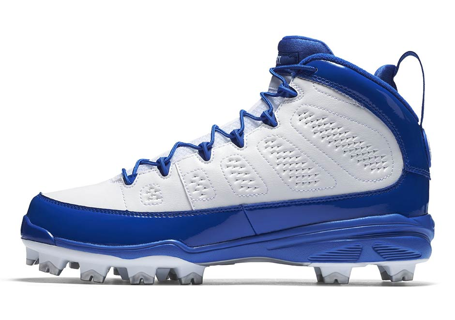 separation shoes 5602f d7a8a The Air Jordan 9 Retro Releasing As Baseball Cleats In Four ...