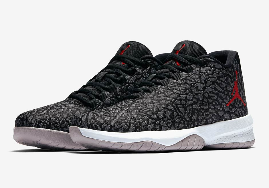 outlet store f7649 9a3c9 Jordan Brand Adds Elephant Print Uppers To The B Fly