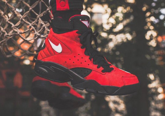 The Nike Air Maestro II By KITH Is Coming In Red Suede