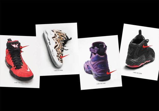 KITH Unveils Upcoming Scottie Pippen Collaborations With Classic Nike Phone Number Ads