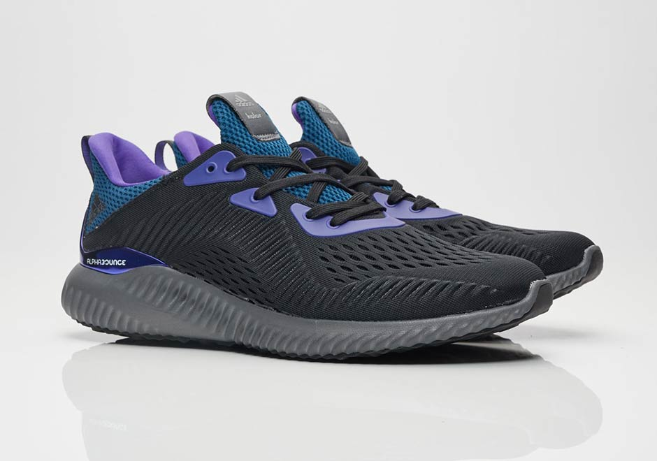 sports shoes 98de8 0dcdc kolor x adidas AlphaBounce. Release Date September 15th, 2017. AVAILABLE  ON Sneakersnstuff.com 119. Color Core BlackGrey FiveEnergy Ink