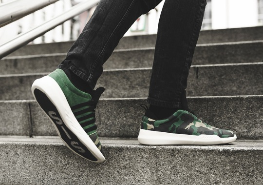 K-Swiss Introduces The New Generation K Icon In Camo Print Uppers