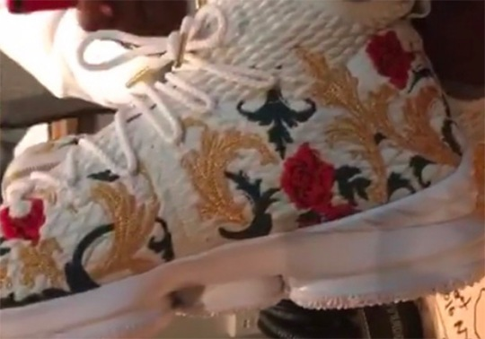 Nike LeBron 15 In Floral Embroidery Is Revealed